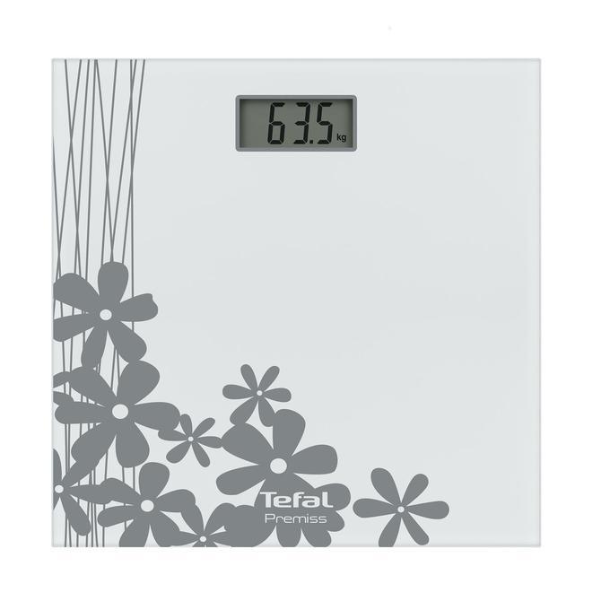 2100100305 Premiss Çiçek Desenli Banyo Tartısı