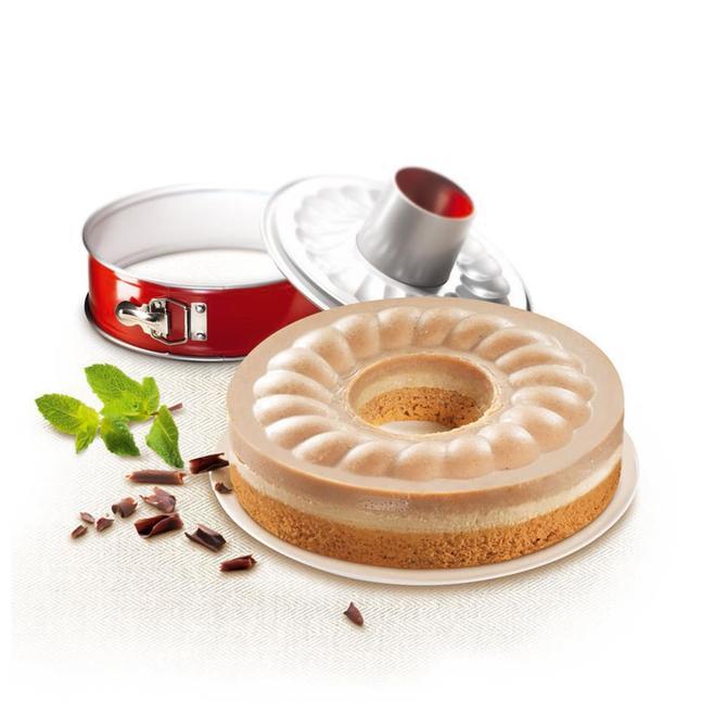 2100104739 DeliBake Savarin Kelepçeli Kek Kalıbı - 19 cm