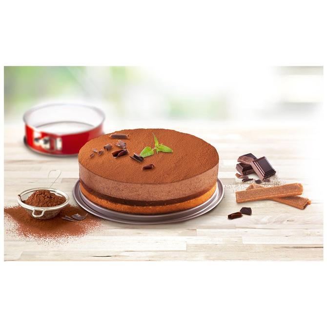 2100104740 DeliBake Savarin Kelepçeli Kek Kalıbı - 25 cm