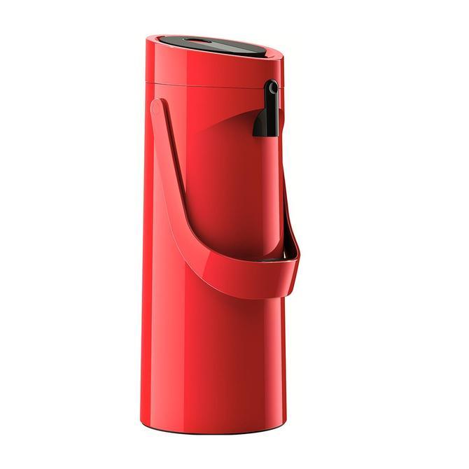 3100518606 Ponza Pompalı Kırmızı Termos - 1.9 L