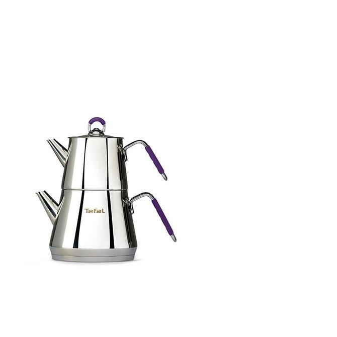 2100109577 Icone Mor Çaydanlık Mini 0.6 L / 1.25 L