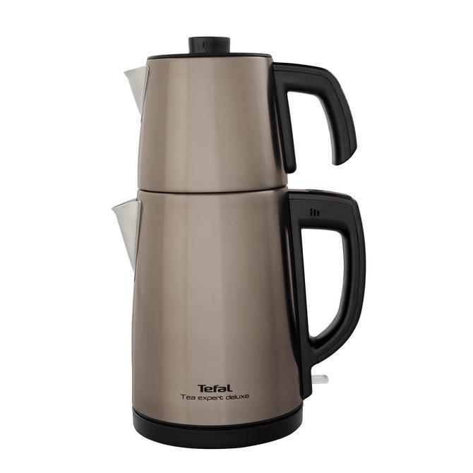 9100036100 Tea Expert Deluxe Şampanya Çay Makinesi - Çelik Demlikli