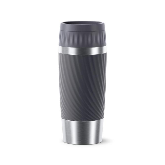 3110600437 Travel Mug Easy Twist Gri - 0.36 L