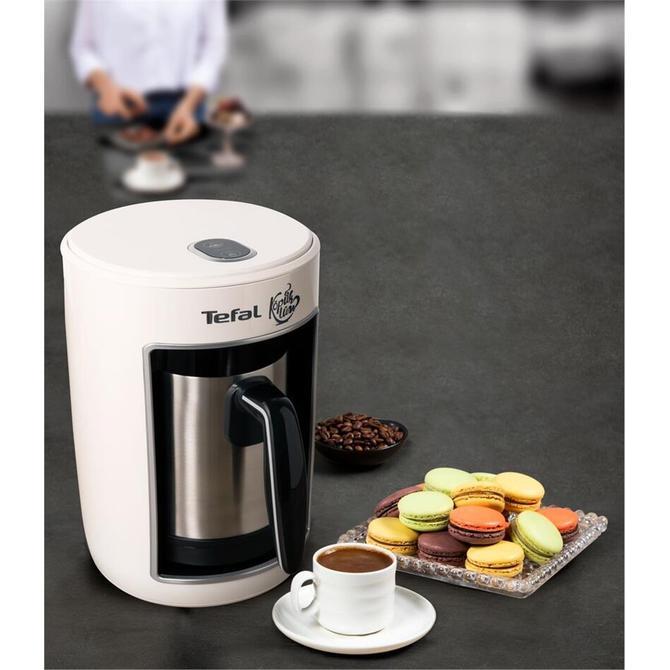 9100041398 Köpüklüm Pro Çelik Türk Kahvesi Makinesi - Beyaz
