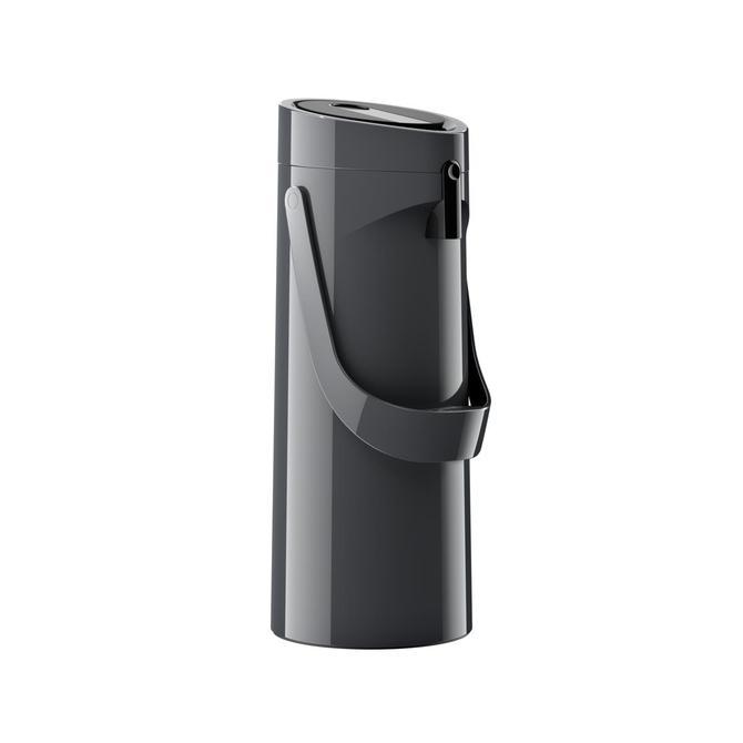 3100518604 Ponza Pompalı Siyah Termos - 1.9 L