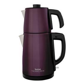 Tea Expert Deluxe Paslanmaz Çelik Çay Makinesi - Mor