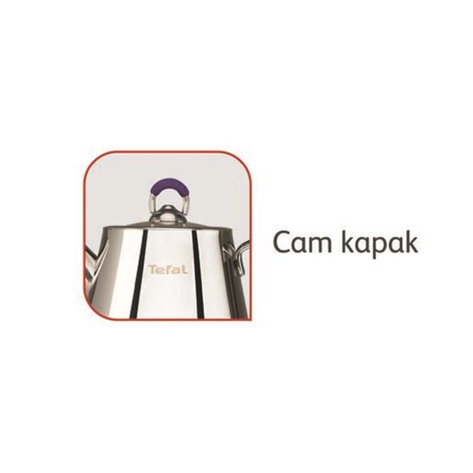 2100109579 Icone Mor Çaydanlık Maxi 1 25lt/2.5lt