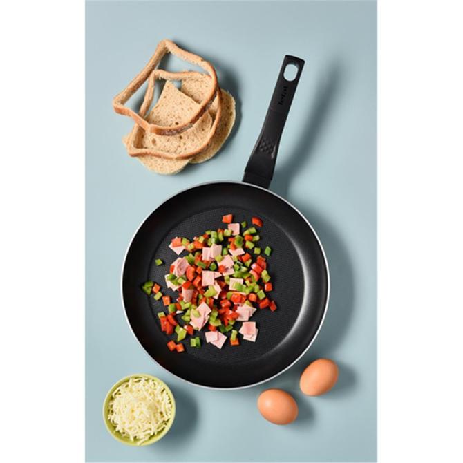 2100118955 Titanyum 1X Extra Cook&Clean Difüzyon Tabanlı Tava - 24 cm