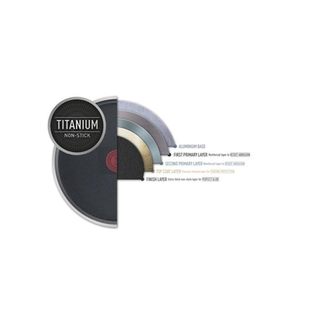 2100118519 Titanyum 1X SimplyClean Difüzyon Tabanlı Izgara Tavası - 26 cm