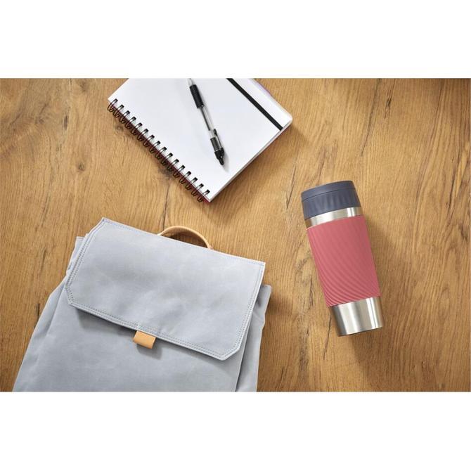 3110600438 Travel Mug Easy Twist Kırmızı - 0.36 L