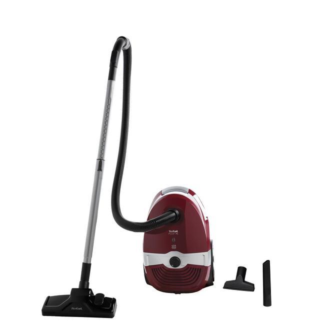 9100044394 UW3113 Power XL Geniş Hazneli Toz Torbalı Elektrikli Süpürge - Kırmızı