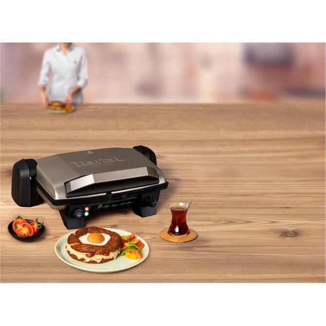 Tefal 1500637692 Toast Expert Inox Elektrikli Izgara ve Tost Makinesi
