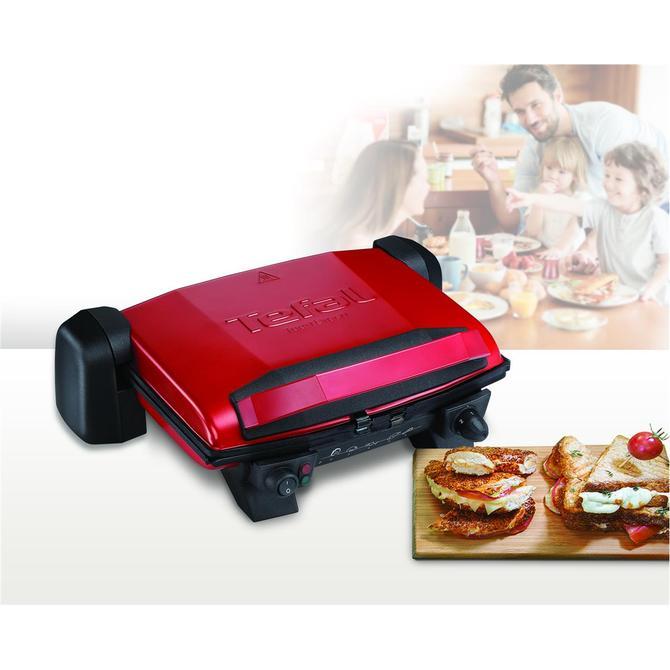 Tefal 1500637693 Toast Expert Kırmızı Elektrikli Izgara ve Tost Makinesi
