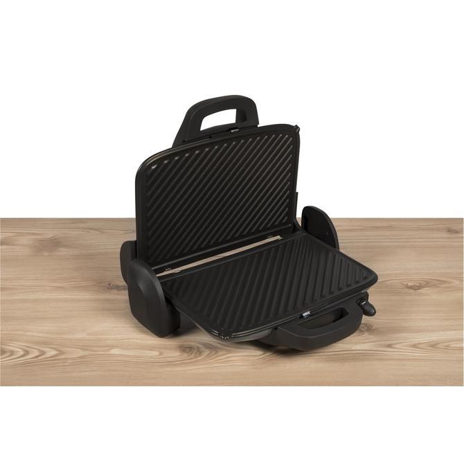 9100044307 Maxi Toast XL Kapasiteli Gri Izgara ve Tost Makinesi