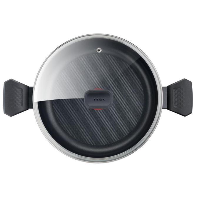 Tefal 2100118507 Titanyum 1X Easy Cook&Clean Kısa Tencere - 28 cm