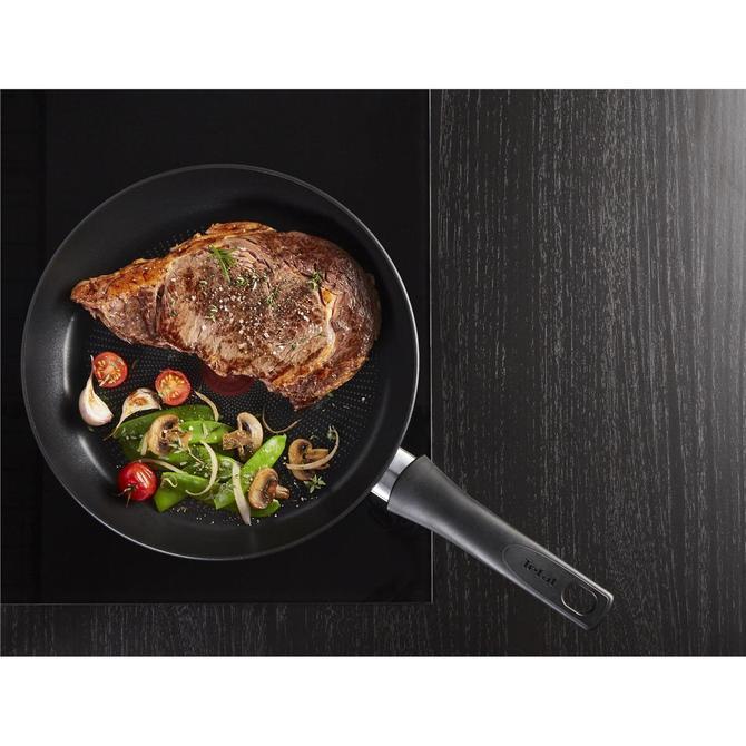 Tefal 2100119162 Titanyum 3X Ultimate İndüksiyon Tabanlı İkili Tava Seti - 22+28 cm