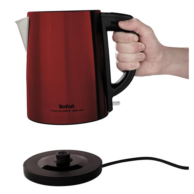 Tefal 9100036098 Tea Expert Deluxe Kırmızı Çay Makinesi - Çelik Demlikli